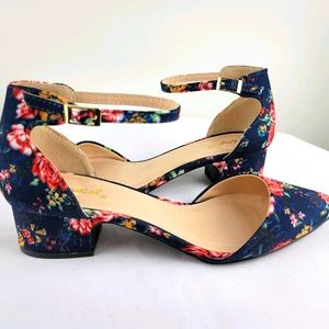 Qupid  Dress up Ankle Strap Shoes